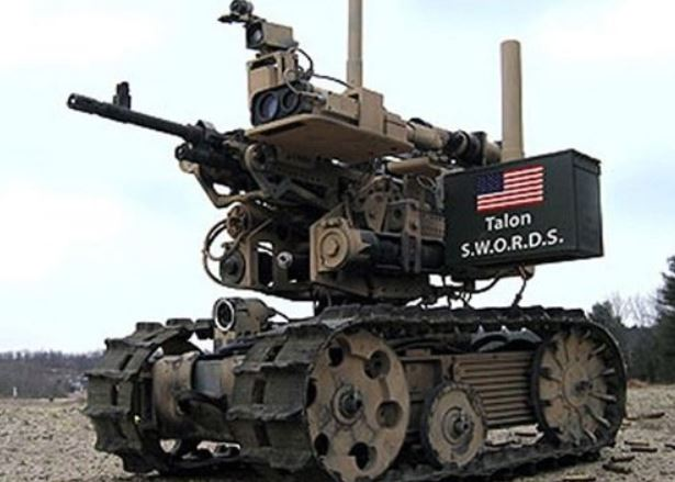 Robot soldado militar Talon Sword de Foster Miller