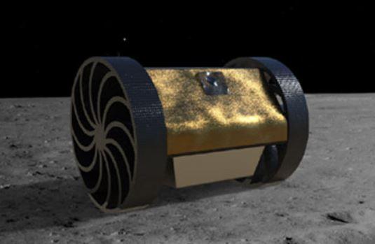 Robot explorador espacial Jaguar-I a la Luna de México