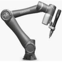 brazo robótico de un robot industrial colaborativo o cobot de empresa de robótica Omron