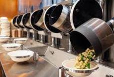 robots cocineros del restaurante Spyce de Boston son ollas y cazuelas automatizadas