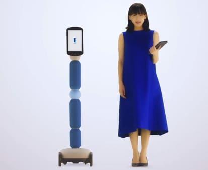 robot avatar de telepresencia Newme viaja por tí en Japón
