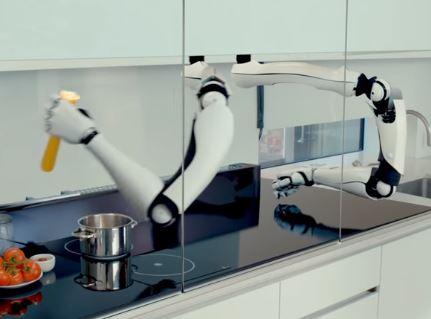 El brazo robótico de cocina Moley es el rey de la robótica