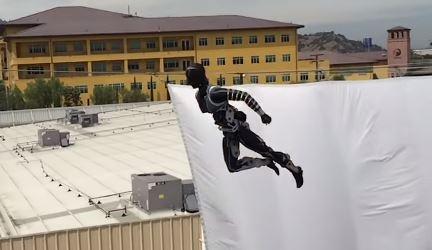 Un robot volador diseñado por Disney